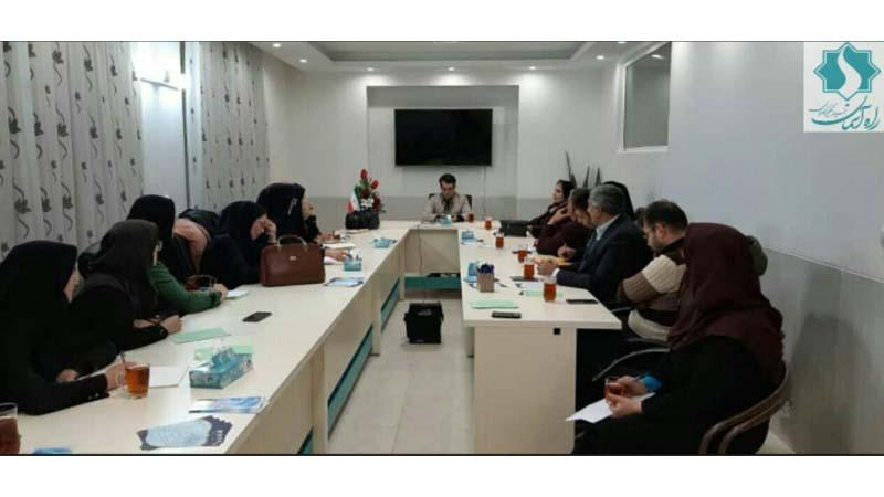 برگزاری کارگاه تخصصی گروه مشاوران در دفتر بنیاد راه آسمان (شاهرود) کلید خورد