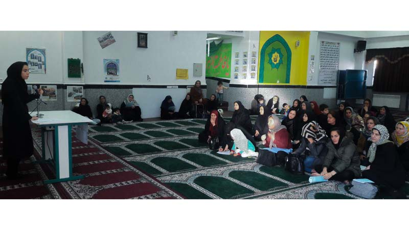 """""""سومین جلسه آموزشی سلامت روان برای اولیاء دانش آموزان دبستان محراب"""""""