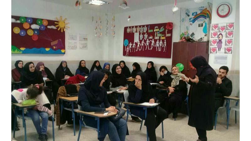 آغاز کلاس مهارتهای دهگانه راه آسمان ویژه ی انجمن علمی معلمان استان سمنان در مجتمع آموزشی سروش
