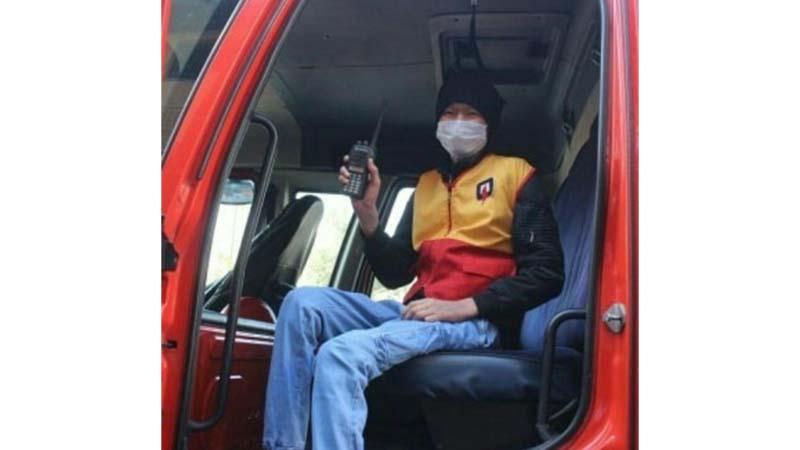 تشکر از آتش نشانان محترم استان که آرزوی آرمین عزیز مبتلا به سرطان را برآورده کردند
