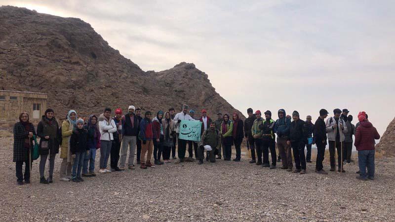 کوه پیمایی و اجرای مراسم در چکاد کوهستان چندران بمناسبت روز جهانی کوهستان
