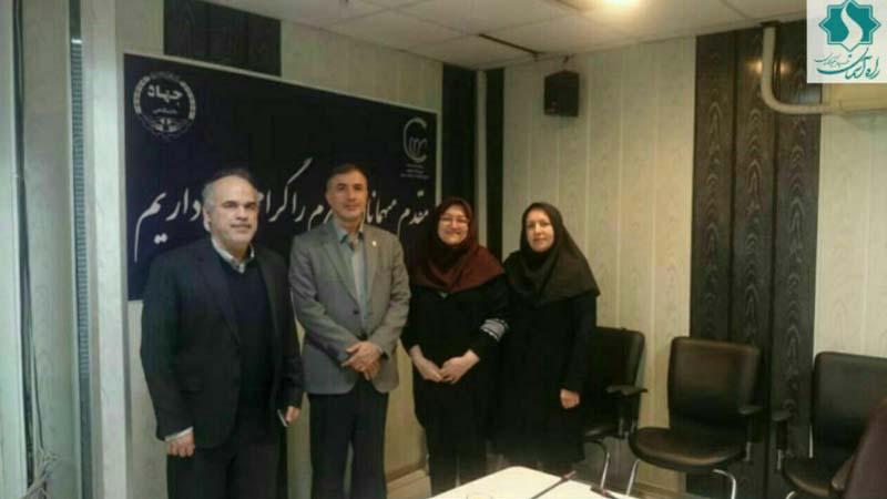 همکاری مرکز تحقیقات سرطان جهاد دانشگاهی با بنیاد نیکوکاران راه آسمان (شاهرود)