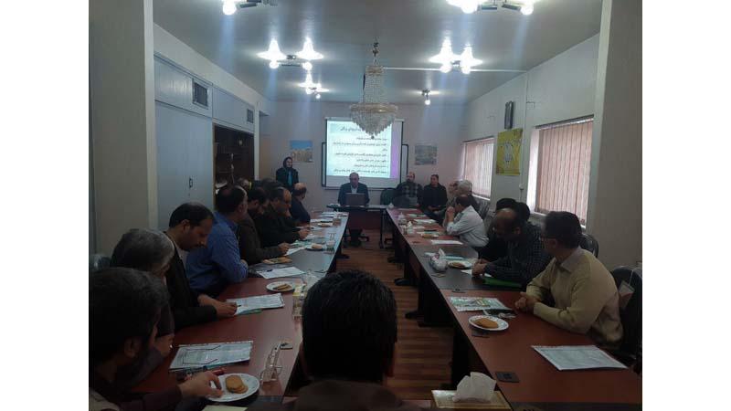 برگزاری دومین جلسه آموزش پیشگیری از سرطان به کارکنان مرکز تحقیقات سازمان جهاد کشاورزی استان