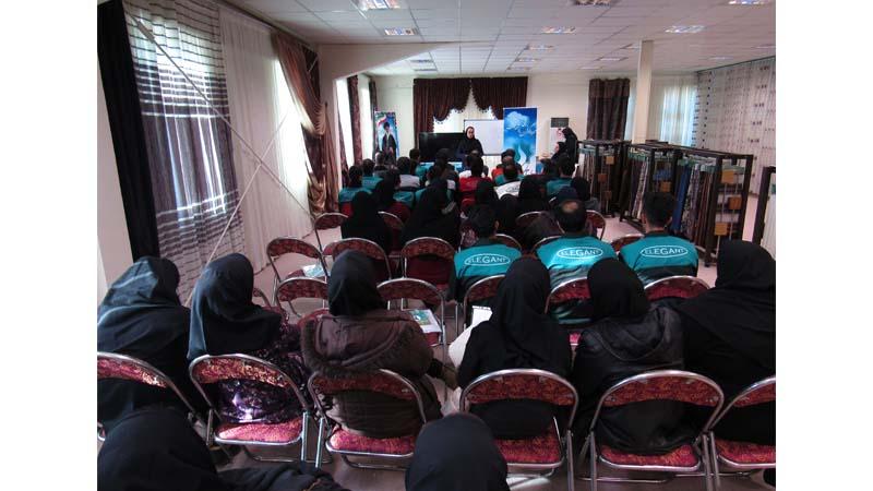 برگزاری جلسه آموزشی راه آسمان در شرکت الگانت