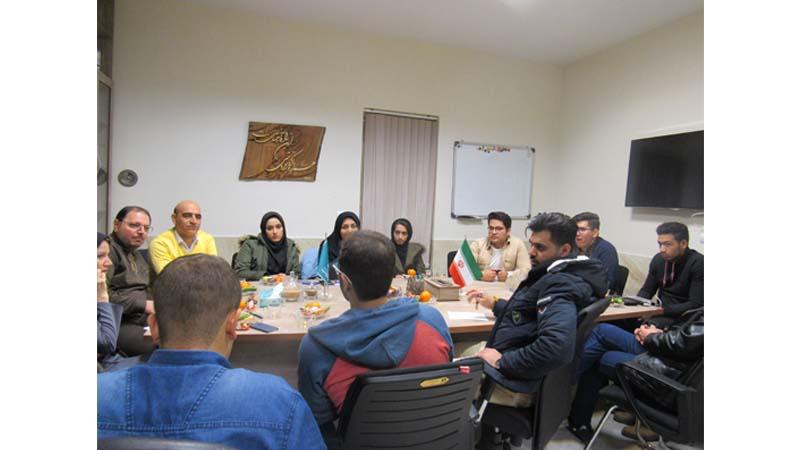 جلسه تقدیر از کمیته دانشجویی جهت تلاش های خالصانه شان در برگزاری جشن شب یلدای آسمانی