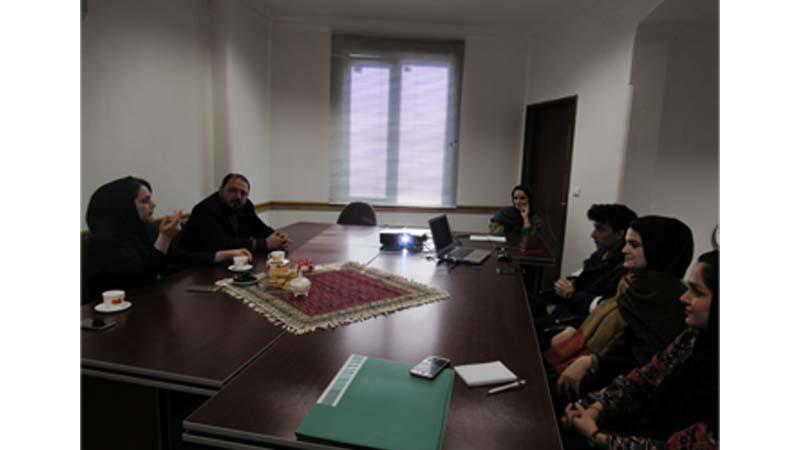بازدید مدیریت ارتباطات و امور بین الملل از خانه ایوان معمار