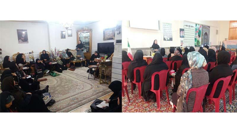 برگزاری جلسه آموزشی راه آسمان در محفل مذهبی و اولیاء دانش آموزان مدرسه انبیاء