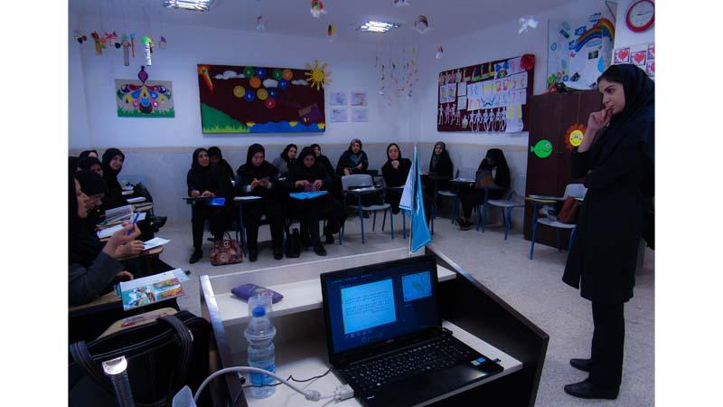 برگزاری دوره دوم مهارت های دهگانه راه آسمان برای انجمن علمی معلمان ابتدایی