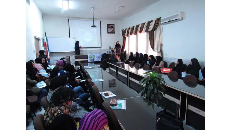 برگزاری جلسه آموزشی راه آسمان در دانشگاه فنی و حرفه ای ویژه خواهران سمنان