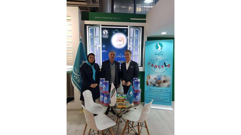 غرفه مشترک راه آسمان و شرکت الگانت؛ حامی بنیاد در پنجمین نمایشگاه بین المللی میدکس