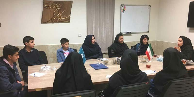 برگزاری اولین جلسه کمیته دانش آموزی بنیاد راه آسمان
