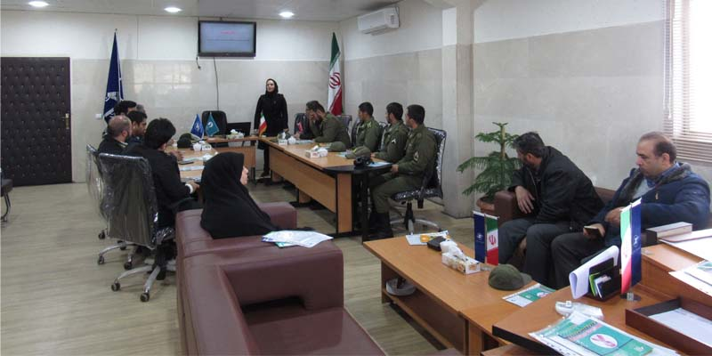 برگزاری جلسه آموزشی راه آسمان در فرودگاه سمنان