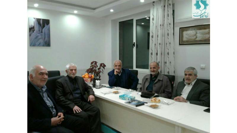 جلسه راه آسمان (شاهرود) با هیأت مدیره موسسه خیریه جواد الائمه