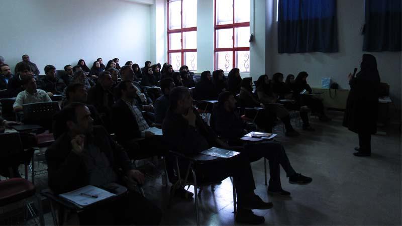 برگزاری جلسه آموزشی راه آسمان در دانشکده علوم پزشکی استان سمنان