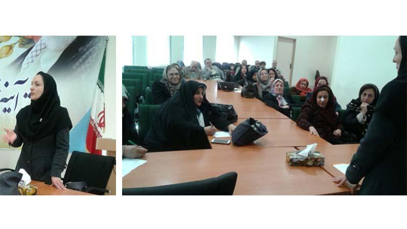 برگزاری جلسه آموزشی در کانون بازنشستگان استان سمنان