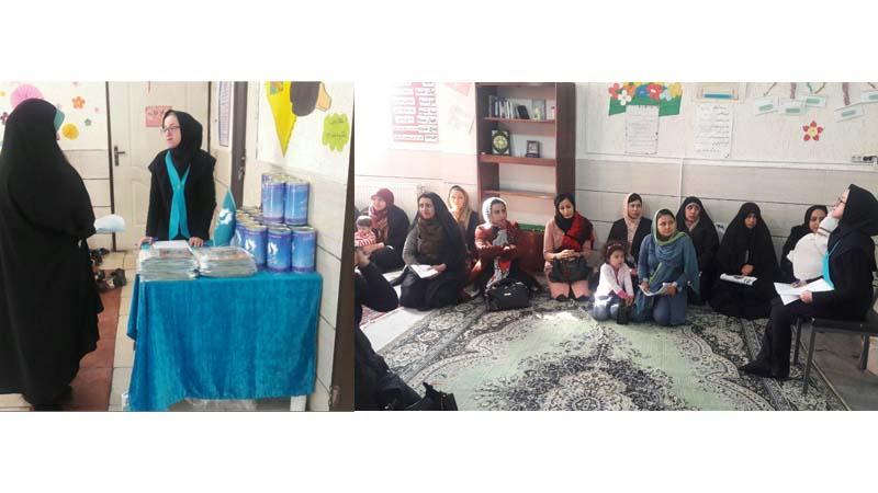 حضور عضو محترم مدیریت توسعه مشارکتهای بنیاد در جلسه آموزشی مدرسه تلاشگران