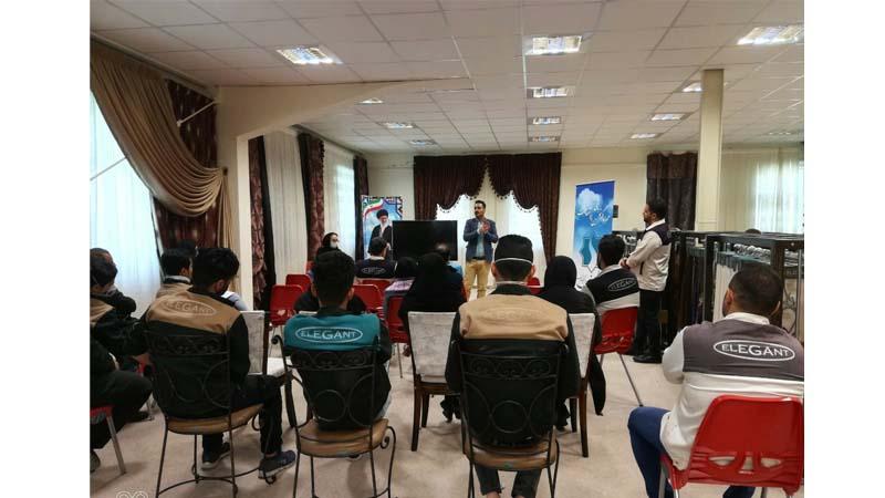 جلسه آموزشی پیشگیری از کرونا ویروس برای پرسنل شرکت الگانت
