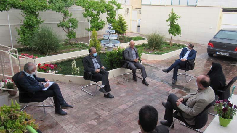 تشکیل جلسه هیأت مدیره با حفظ نکات بهداشتی، جهت پیشبرد اهداف بنیاد