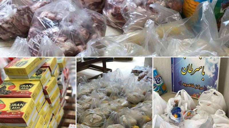 توزیع ۵۰ سبدکالا و بسته بهداشتی در آستانه ماه مبارک رمضان به خانواده های تحت پوشش در شاهرود