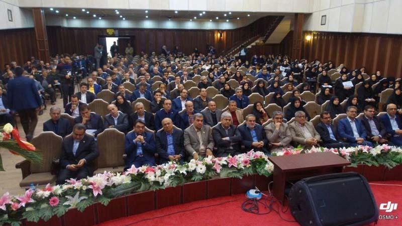 حضور موسسه راه آسمان در اولین مجمع سلامت استان سمنان28 فروردین 97