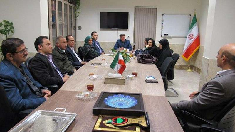 """برگزاری دومین جلسه کمیته جذب مشارکتها موسسه """"راه آسمان"""" در سال ۹۷"""