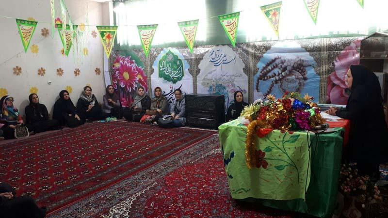 برگزاری جلسه آموزش پیشگیری از سرطان در مدرسه دخترانه سماء97/2/16