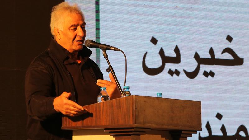 سخنرانی جهان پهلوان حاج محمد رضا طالقانی در گردهمایی آغاز پروژه بزرگ مجتمع امید راه آسمان