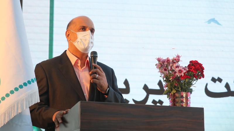 سخنرانی آقای دکتر فرهاد ملک رئیس هیأت امناء بنیاد در گردهمایی آغاز پروژه بزرگ مجتمع امید راه آسمان