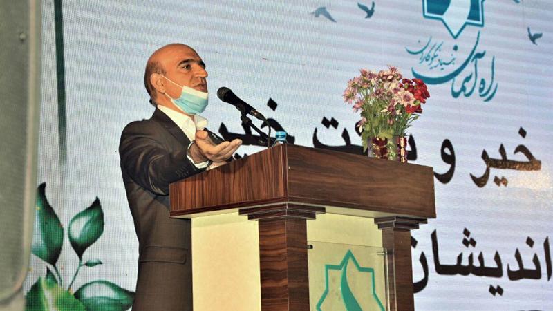 سخنرانی آقای احمد صدیقی مدیرعامل بنیاد در گردهمایی آغاز پروژه بزرگ مجتمع امید راه آسمان