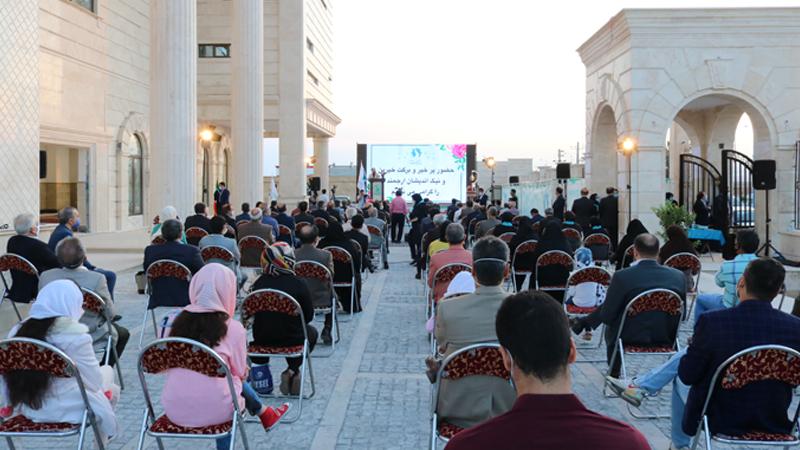 گردهمایی آغاز پروژه بزرگ مجتمع امید راه آسمان با حضور نیک اندیشان و خیرین استانی، کشوری